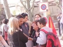 Photos visite de Madame Bachelot, Ministre de la santé le 24 avril 2009