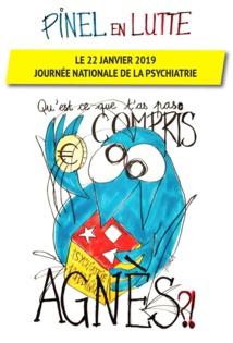 Le 22 janvier janvier journée nationale de la psychiatrie et appels à signatures 7/01/19