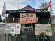 La grève à la Gravette dans la presse (service de psychiatrie adulte, Centre Psychothérapique Philippe PINEL) 11/04/19