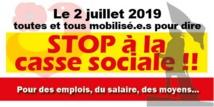STOP à la casse sociale dans les hôpitaux   27/06/19
