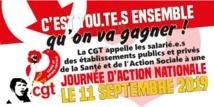 Pour des moyens à la hauteur de la santé.Ensemble à Paris le 11 septembre !  19/08/19