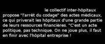 Collectif Inter Hôpitaux: Signez la motion !  28/10/19