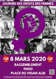 Journée internationale de lutte pour les droits des femmes 5/03/20