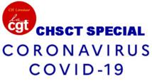 Compte rendu du CHSCT extraordianire spécial COVID-19 du 20 mars 2020    24/03/20