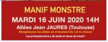 Mobilisés et déterminés à nous faire entendre le 16 juin 2020  8/06/20