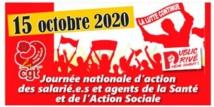 Journée nationale de mobilisation   5/10/20