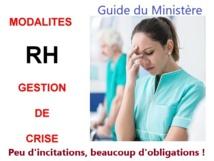 """Crise sanitaire: Le guide du Ministère de la Santé pour """"gratter"""" des ressources humaines !   2/11/20"""