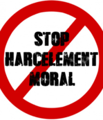 Dossier harcèlement moral  18/02/21
