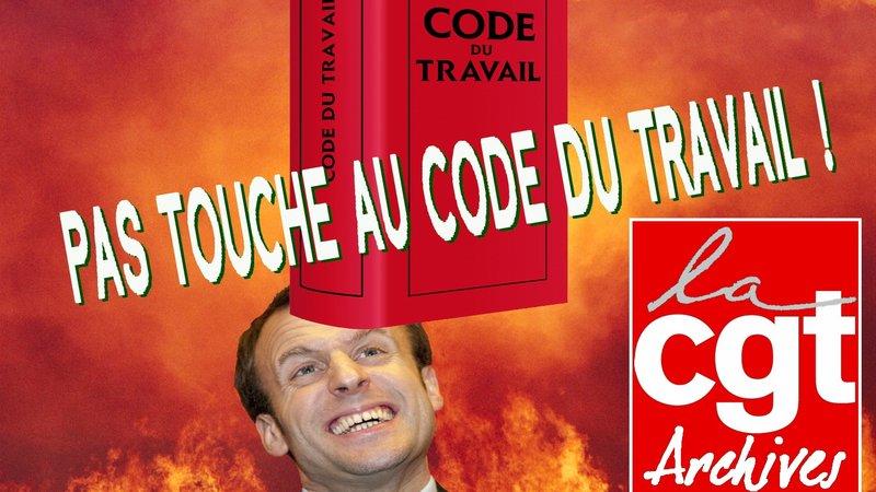 Pétition Abrogation totale de la loi El Khomri ! À bas les ordonnances Macron !  22/08/17