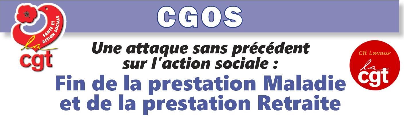 Pétition: Stoppons « la marche » de la CASSE PROGRAMMÉE du CGOS !  8/05/18