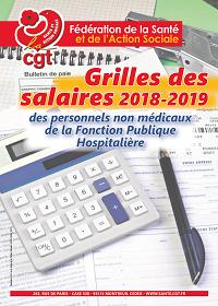 Grilles des salaires 2019 dans la FPH   22/11/18