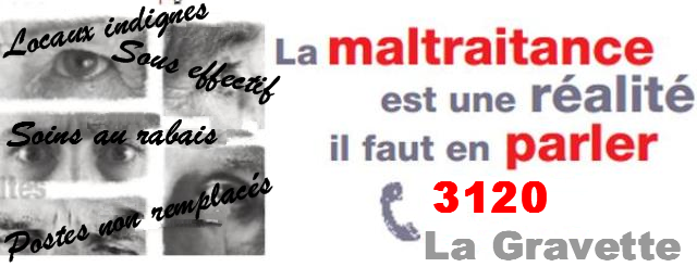 Préavis de grève illimité à la Gravette (unité de soins psychiatrie adulte)   2/04/19