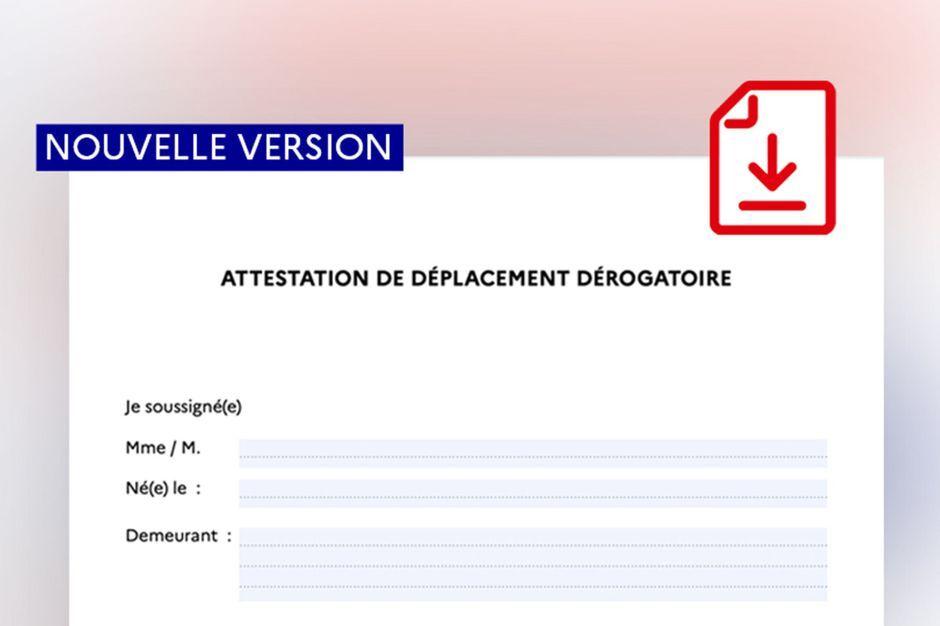 Durcissement des mesures de confinement et nouvelle attestation de déplacement dérogatoire    25/03/20