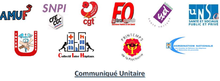 Communiqué unitaire mobilisation du 16 juin 2020  8/06/20