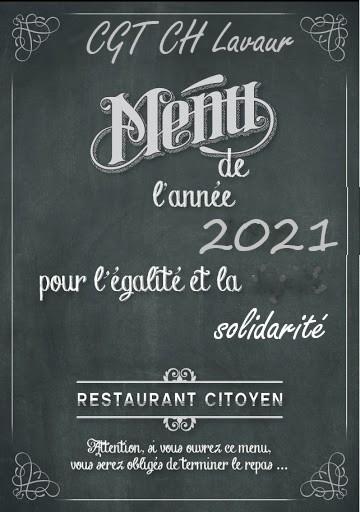 Cliquer sur le menu pour passer à table !