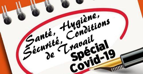 Compte rendu du CHSCT extraordinaire spécial COVID du 7 janvier 2021    13/01/21