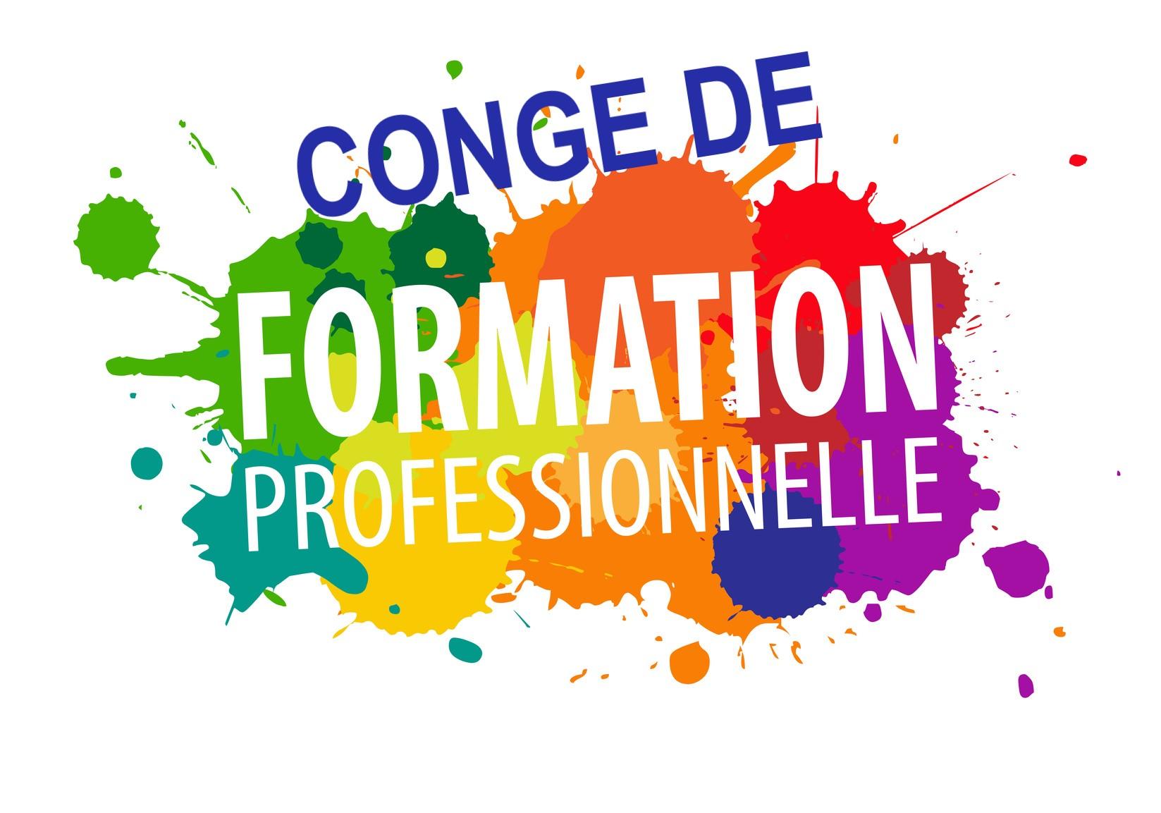 Congé de Formation Professionnelle  8/03/21