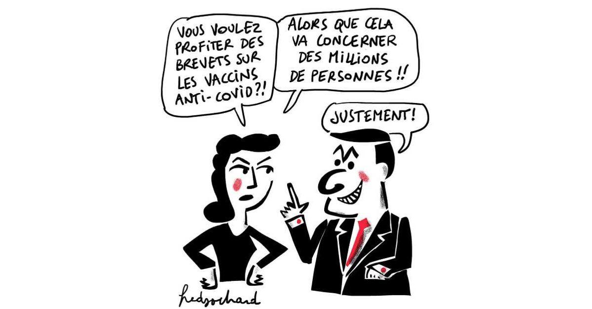 Brevets sur les vaccins anti-covid, stop.  Réquisition !   15/03/21